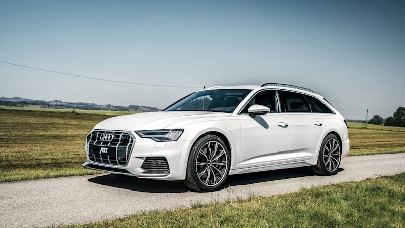 Abt Audi A6 Allroad tune makes the new wagon even more tempting