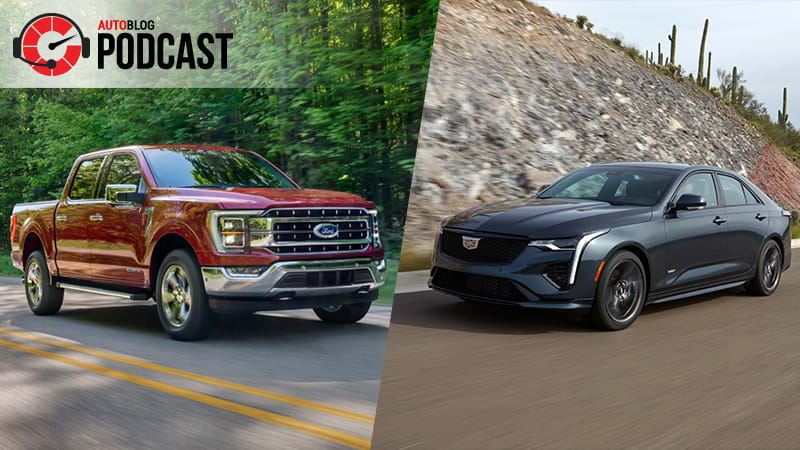 2021 Ford F-150 goes hybrid and we drive the Cadillac CT4-V | Autoblog Podcast #633