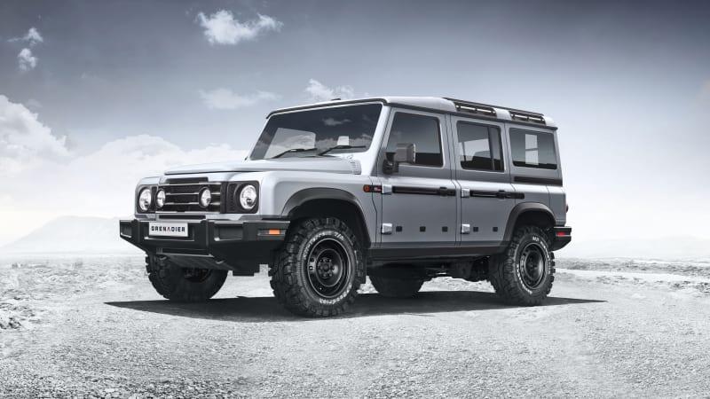 Land Rover loses trademark case over Defender's shape, Ineos Grenadier