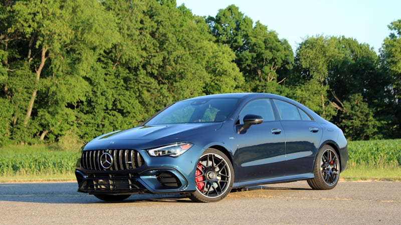 2020 Mercedes-AMG CLA 45 First Drive | Photos, specs, features