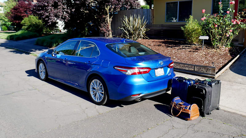 2020 Toyota Camry Luggage Test | Don't write off sedans yet