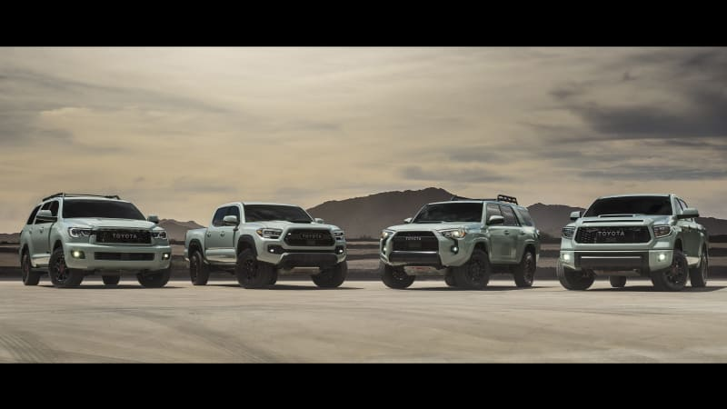 Toyota's off-road trucks and SUVs get new color options, special editions for 2021