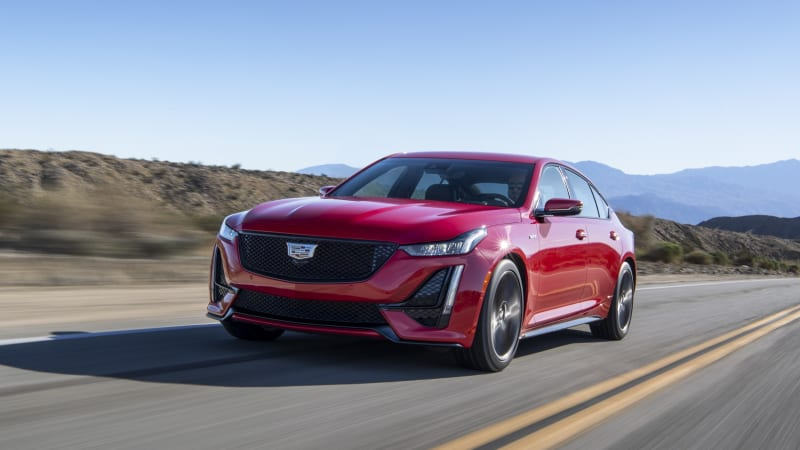 2021 Cadillac CT5-V makes a few changes for its second year