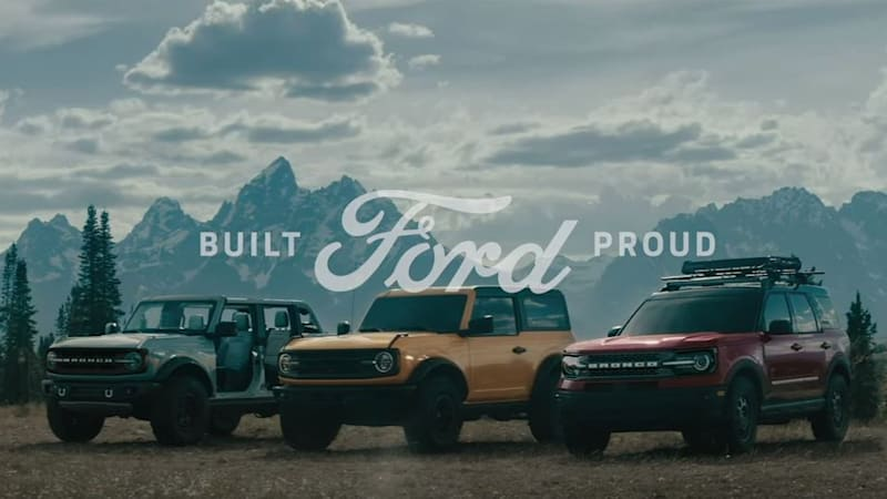 Best Commercials Of 2021 2021 Ford Bronco ad blitz kicks off with three spots titled 'Built