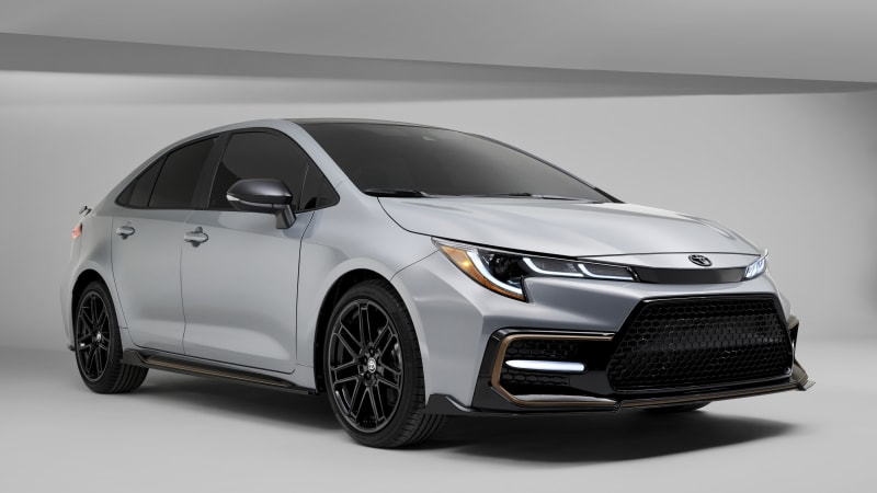 2021 Toyota Corolla Apex Edition debuts with 'track-tuned' suspension, no more power