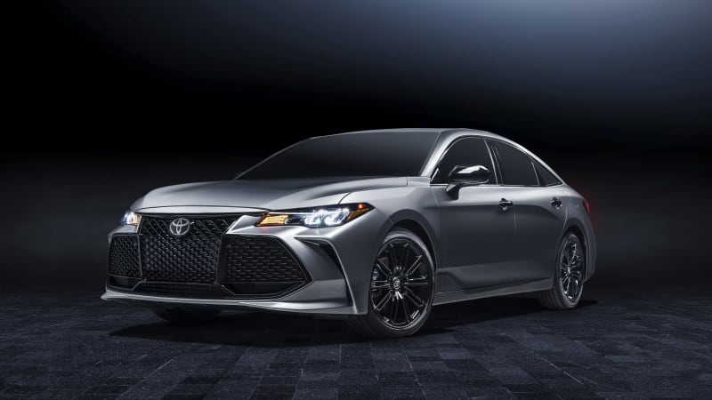 2021 Toyota Avalon Nightshade Edition debuts, and the sedan gets more tech