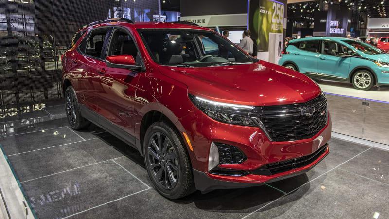 Обновленный Chevrolet Equinox перенесен на 2022 модельный год