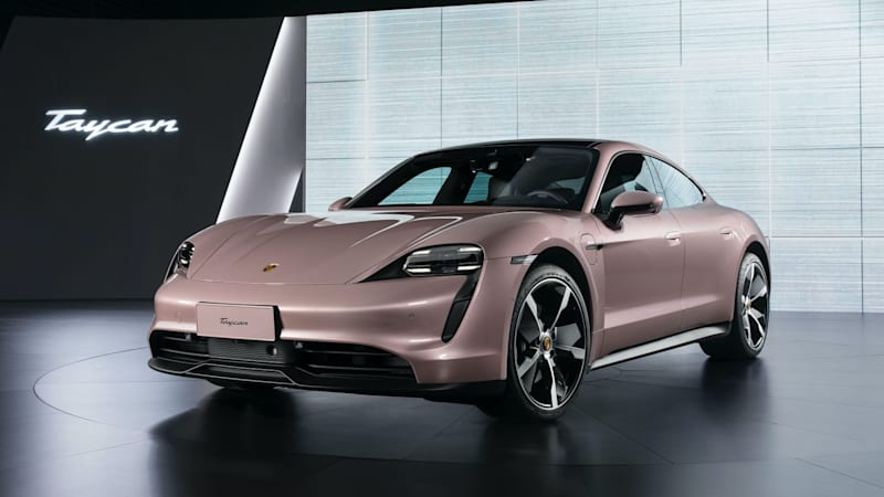 Porsche launches first RWD Taycan in China