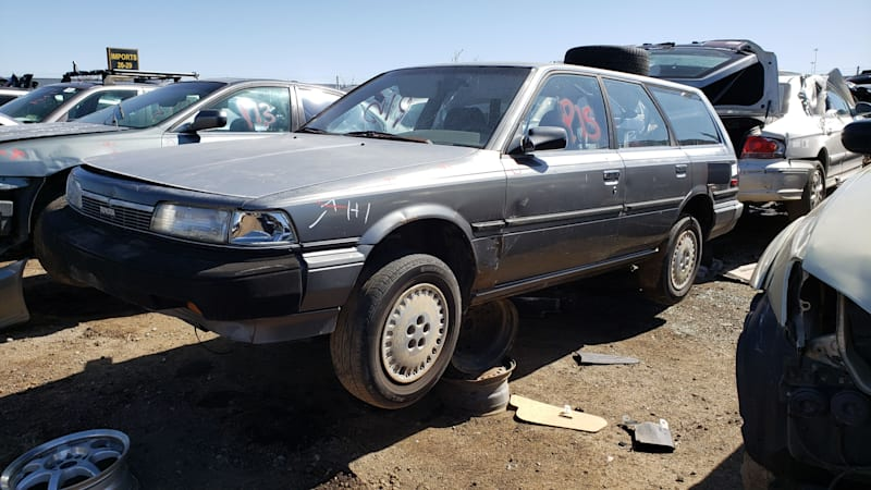 Junkyard Gem: 1987 Toyota Camry LE Wagon with 322,000 miles