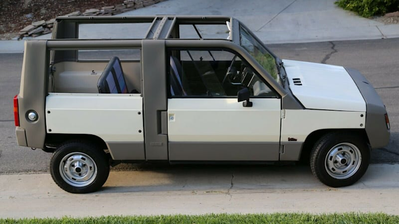 eBay Find of the Day: 1984 Renault Rodeo beach car
