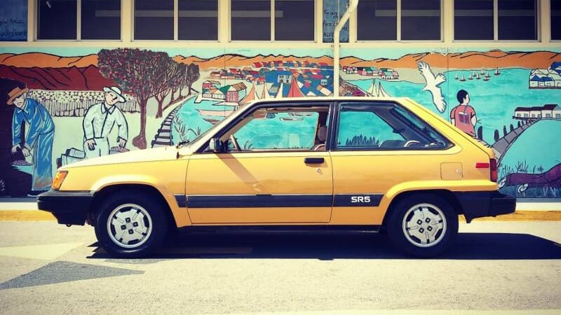 This Toyota Tercel promises minimalism, '80s-style