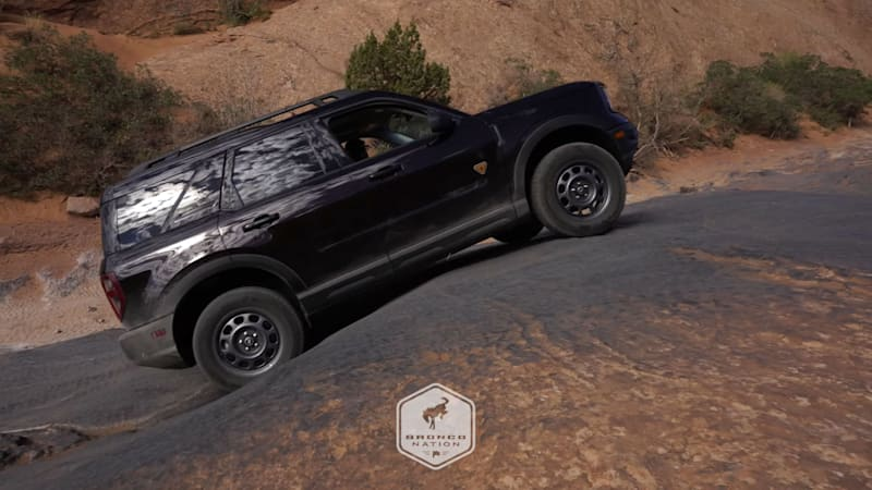 2021 Ford Bronco Sport looks plenty capable in Moab off-road video