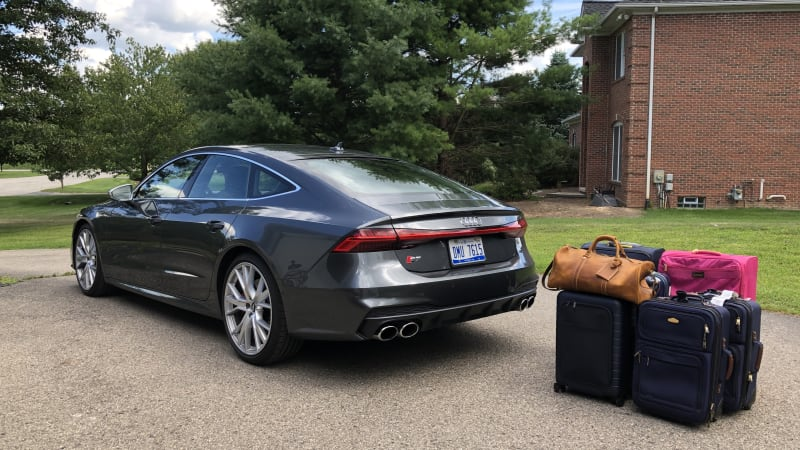2020 Audi S7 Luggage Test   Another win for the sportback