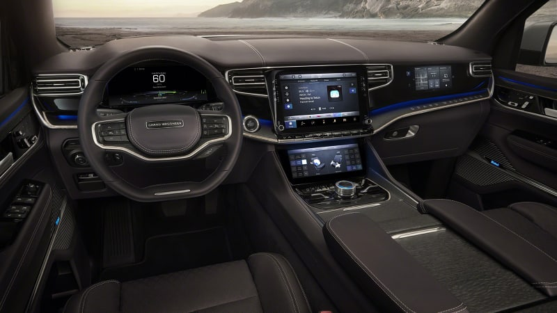 Jeep Grand Wagoneer Concept interior