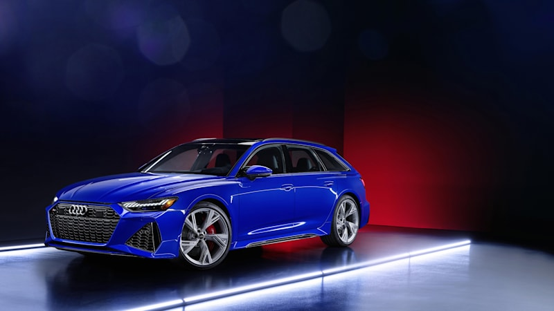 Audi expands RS 6 Avant RS Tribute Edition expands wagon bounty
