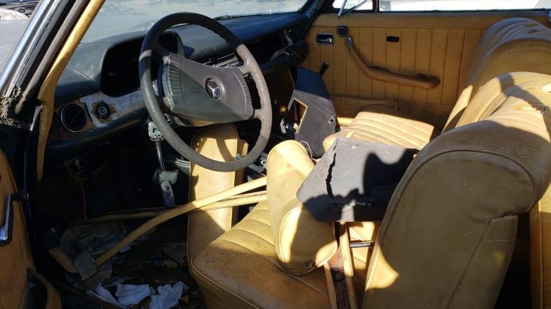 Junkyard Gem: 1973 Mercedes-Benz 280C W114 Coupe