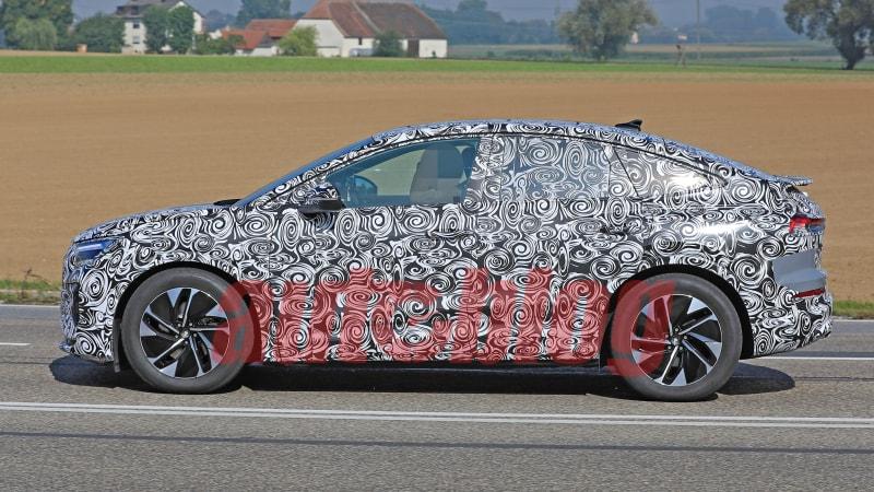 Audi Q4 Sportback E-Tron caught in fresh spy photos
