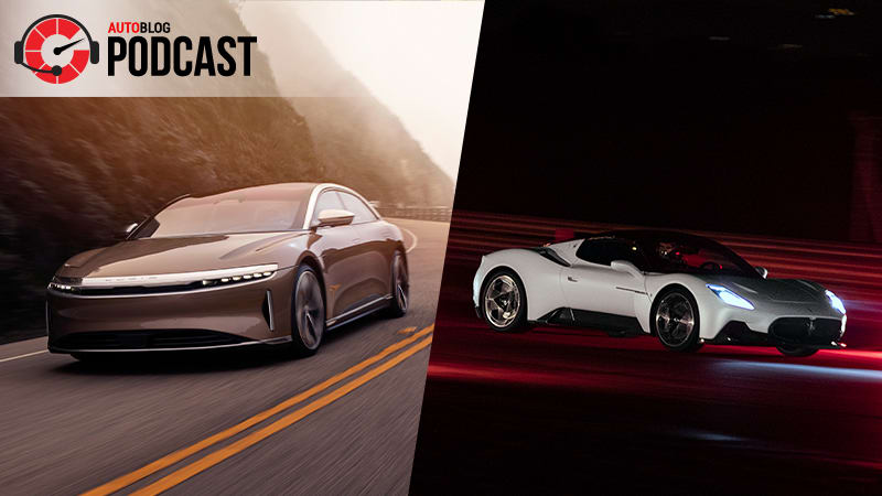 Lucid Air and Maserati MC20 unveiled | Autoblog Podcast #644