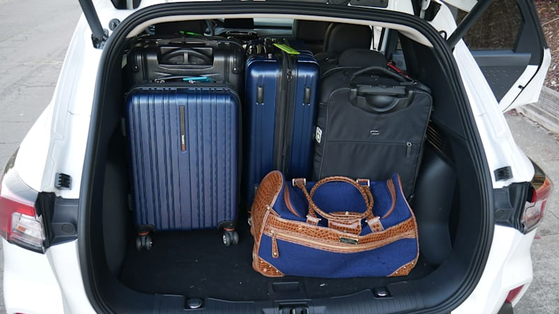 2020 Ford Escape Luggage Test seats forward all bags