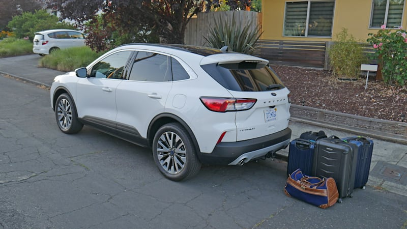 Ford Escape Luggage Test | Cargo capacity, space and comparisons