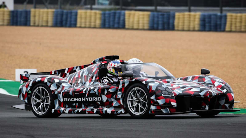 Toyota GR Super Sport hypercar previewed at 24 Hours of Le Mans