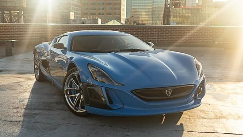 2019 Rimac Concept_One listed for sale at Manhattan Motorcars