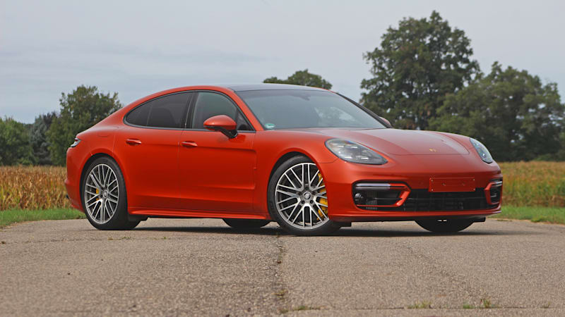 2021 Porsche Panamera Turbo S First Drive | S is for 'spicy'