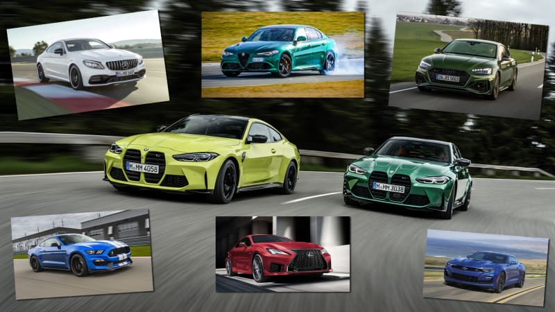 2021 BMW M3 and M4 vs all the high-powered sport sedans and coupes