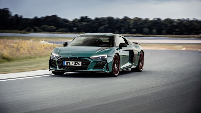 Audi R8 Green Hell commemorates victories at the Nürburgring