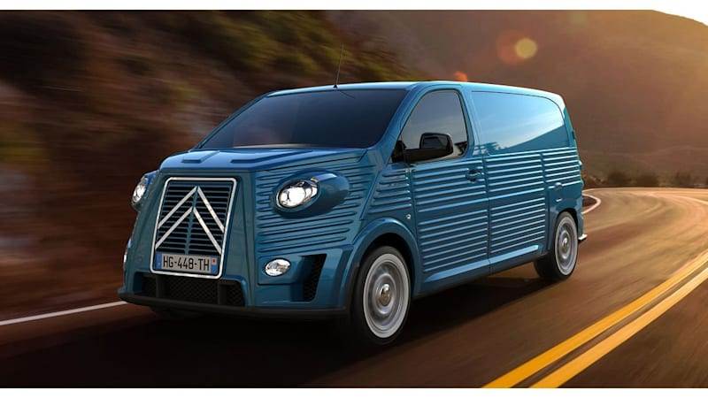 Italian coachbuilder wraps a modern-day Citroën van in a retro skin