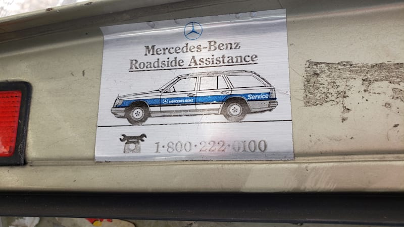 Junkyard Gem: 1981 Mercedes-Benz W126 S-Class with nearly 600k miles