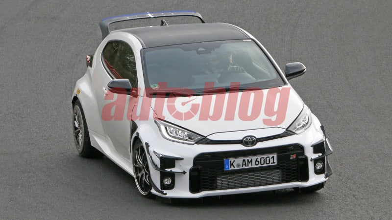 Possible Toyota Yaris GRMN caught in new spy photos