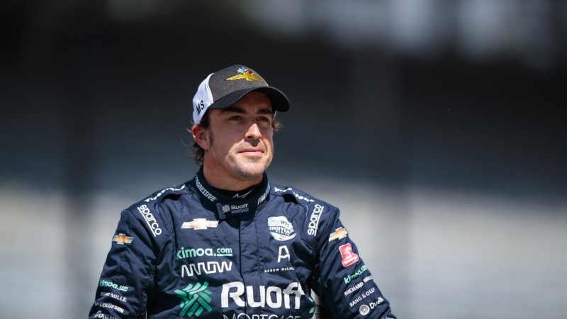 Two-time F1 world champion Fernando Alonso hurt in cycling accident