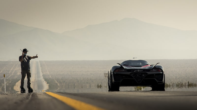 SSC Tuatara driver's scare on the way to speed record: 'I had a really close call'