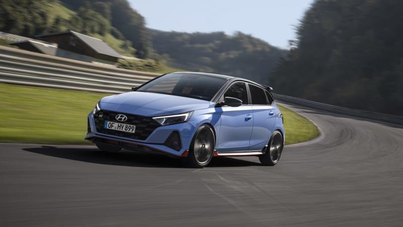 2020 Hyundai i20 N hot hatch introduced with 204 hp