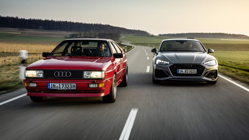 Rallies, ski jump and Le Mans: Audi celebrates 40 years of Quattro