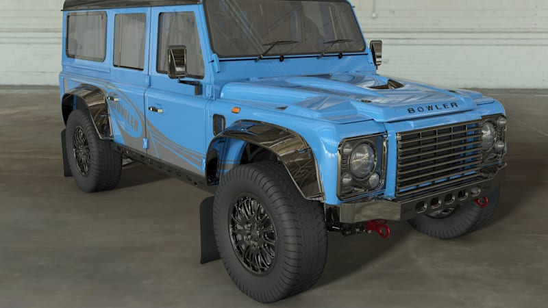 Bowler announces Land Rover Defender-based CSP 575 off-roader