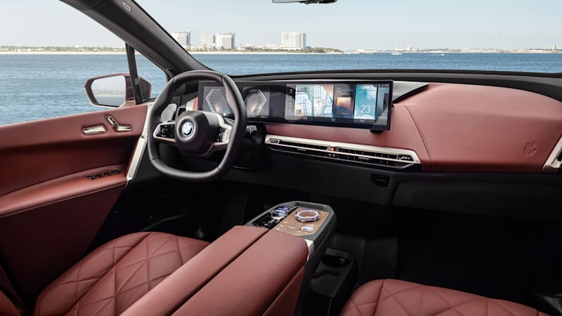 BMW iX Interior wows with its design and materials choices