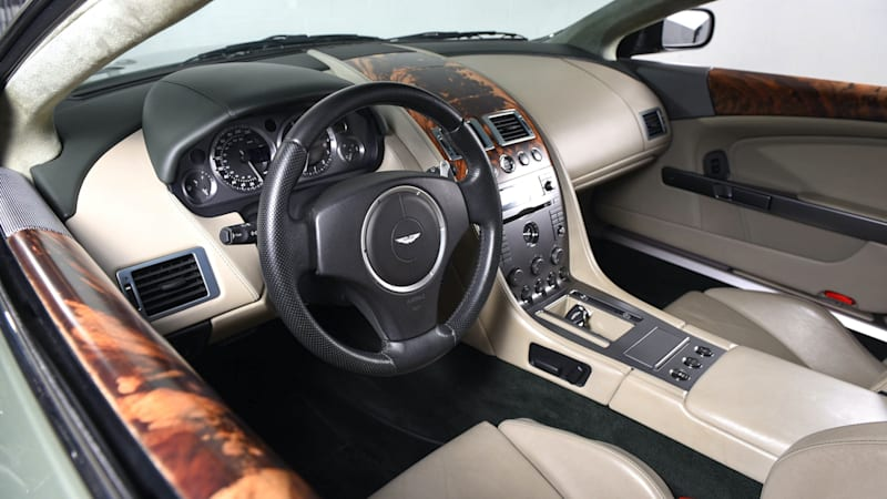 Aston Martin Db9 For Sale Has An Amazing 104 854 Miles On It Autoblog