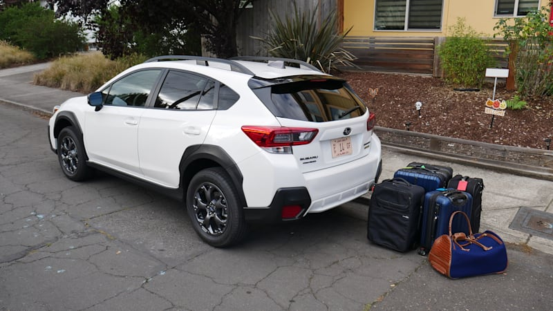 2021 Subaru Crosstrek Luggage Test