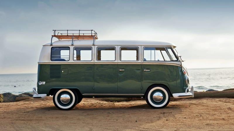 Omaze is giving away a Tesla-powered 1966 Volkswagen Microbus