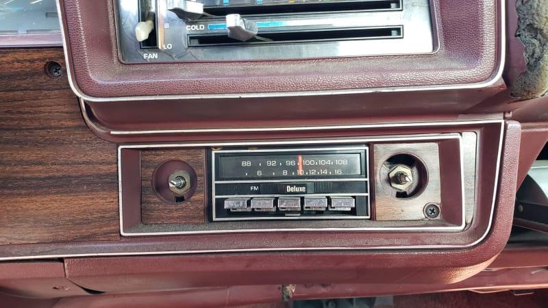 30 1976 Chevrolet Malibu Classic in Colorado Junkyard photo by Murilee Martin
