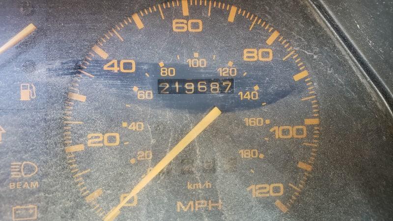 08 1985 Mazda 626 in Colorado Junkyard photo by Murilee Martin