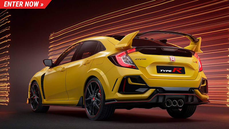 Omaze is giving away the first 2021 Honda Civic Type R LE