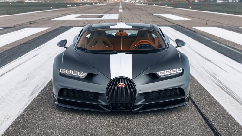 Limited-edition Bugatti Chiron Sport Les Legendes du Ciel unveiled