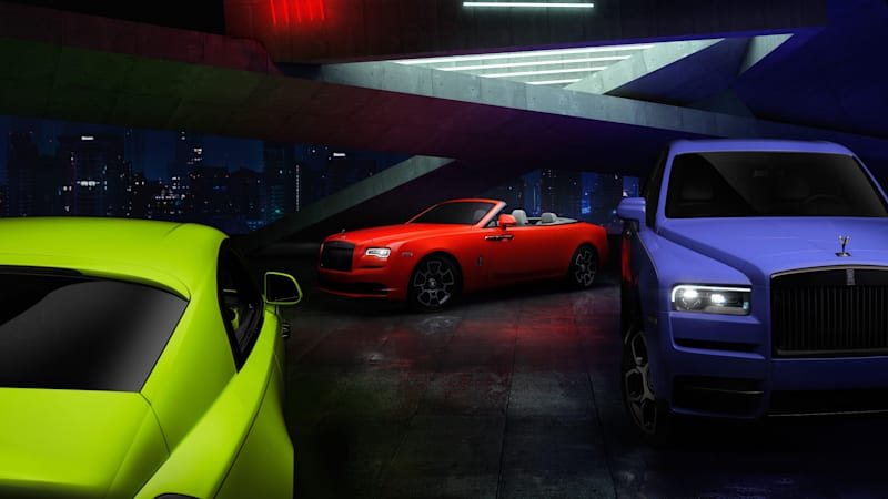 Rolls-Royce releases Neon Nights models