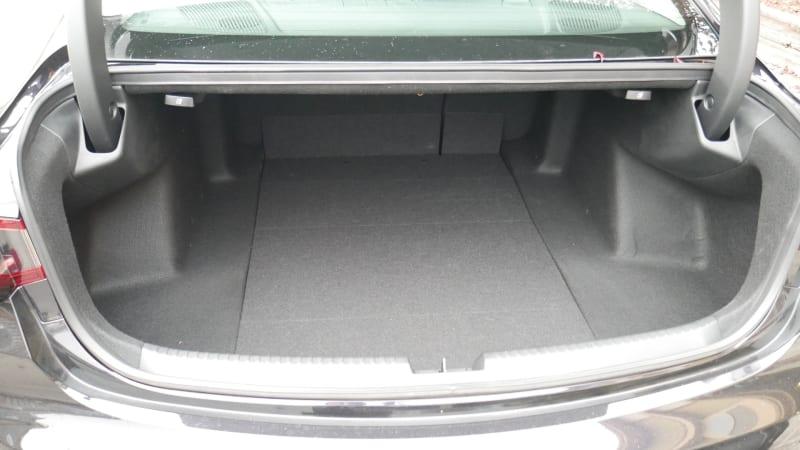 2021 Acura TLX luggage test trunk