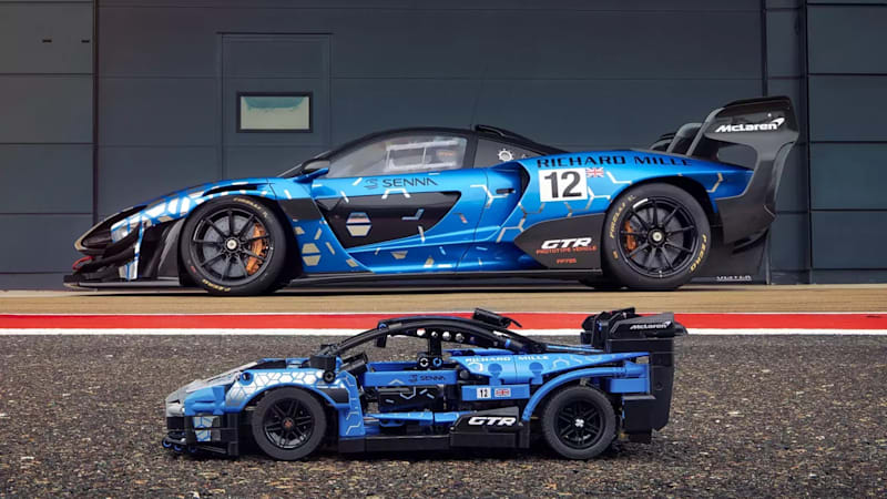 Lego Technic announces 830-piece McLaren Senna GTR kit