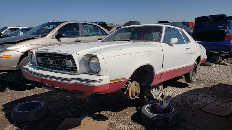 Junkyard Gem: 1978 Ford Mustang II Hardtop