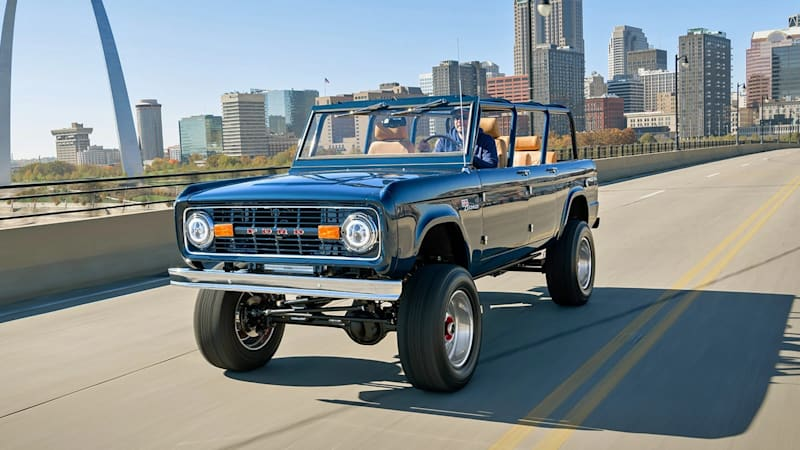 Omaze is giving away a vintage Ford Bronco, complete with four-doors